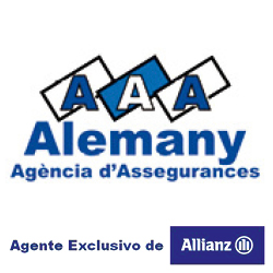 logo alemany agencia d'assegurances - allianz