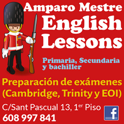 logo amparo mestre english lessons
