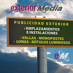 logo exterior media