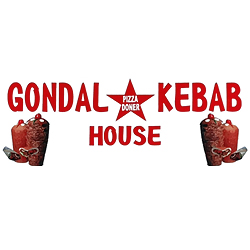 logo gondal kebab house pizza doner