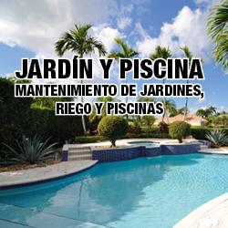 logo jardin y piscina