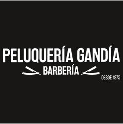 logo peluqueria barberia gandia