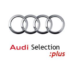 logo audi selection:plus