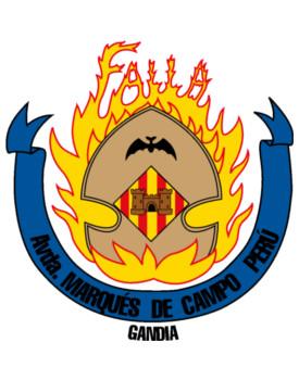 Escudo Falla Marques de Campo Perú