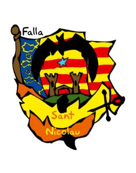 Escudo Falla Sant Nicolau-Mosquit