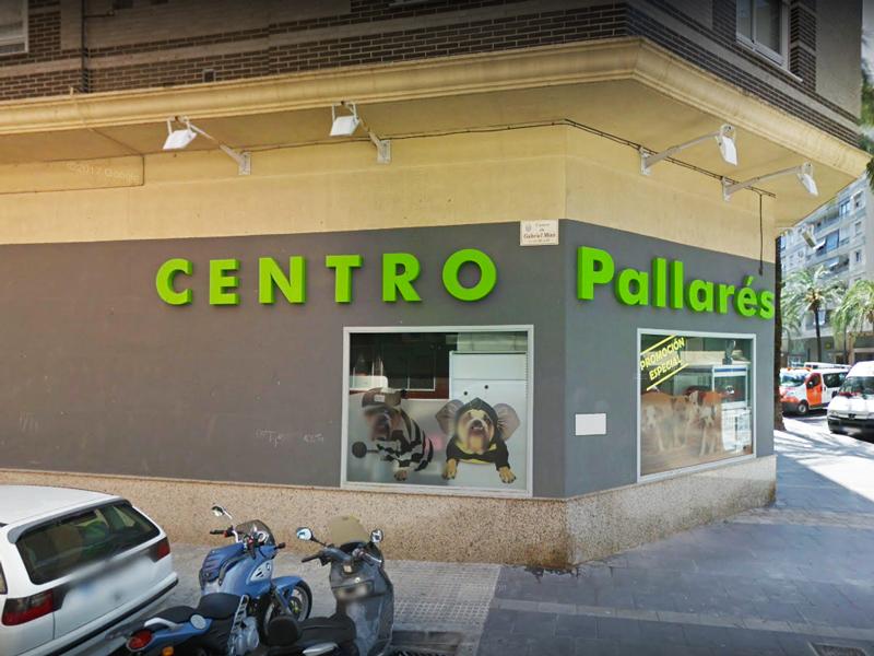 Fachada Centro Veterinario Pallares B