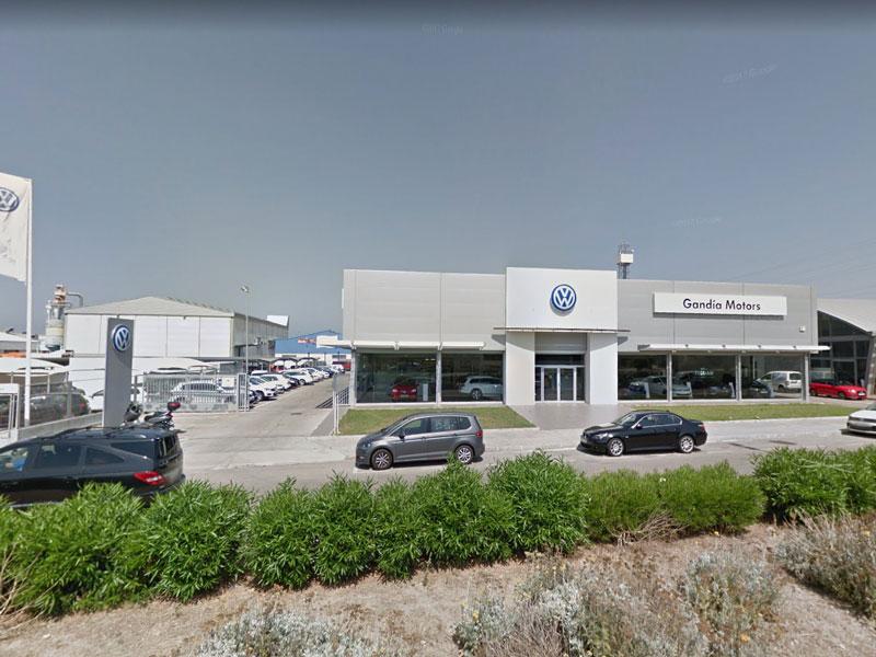 Fachada Concesionario oficial Volkswagen