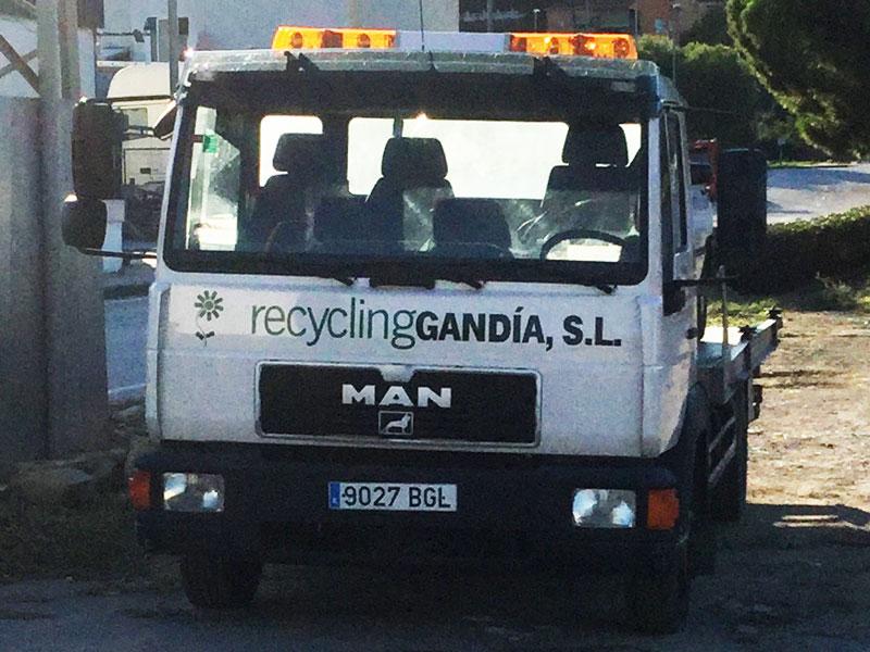 Recogida de vehículos - Recycling Gandia